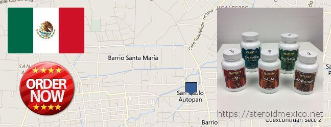 Where to Buy Anabolic Steroids online San Pablo Autopan, Mexico